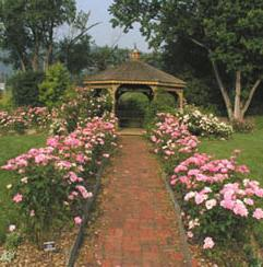 Cutler Botanic Garden is a heritage-area recognized destination in the town of Dickinson